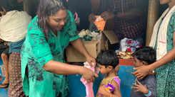 Sayanora and Kai Korthu Kannur team meet Wayanad flood survivors