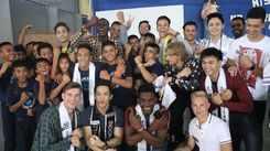 Mr. World 2019 finalists visit Tuloy Foundation