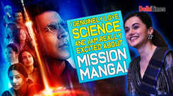 Taapsee Pannu: I genuinely love science and I am really excited about 'Mission Mangal'