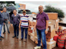 Kolhapur District Chemist Association initiates flood relief work