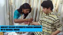 Abhijeet Kelkar celebrates Raksha Bandhan with Vaishali Mhade | Bigg Boss Marathi 2 |
