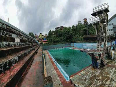 Goa: Top swimmers ill after training in dirty Peddem pool