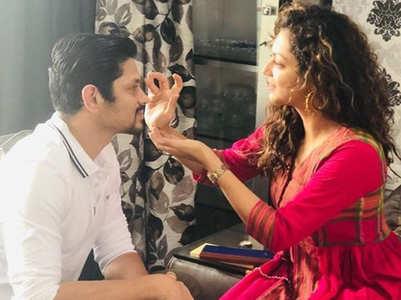 Avneet, Ssharad celebrate Raksha Bandhan