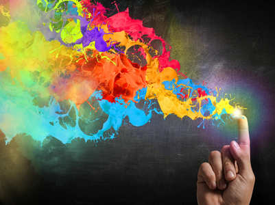 Significance of different colours in colour therapy
