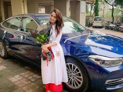 Dipika Kakar Ibrahim buys a new swanky car