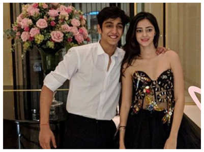 Ananya celebrates Raksha Bandhan with Ahaan