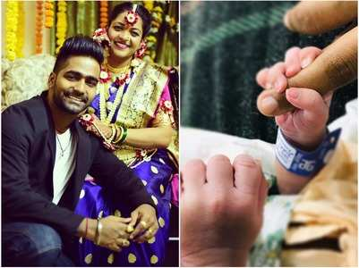 Choreographer Vaibhav welcomes a baby boy