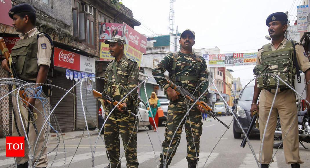 UNSC to discuss Kashmir behind closed doors: Diplomats - Times of India
