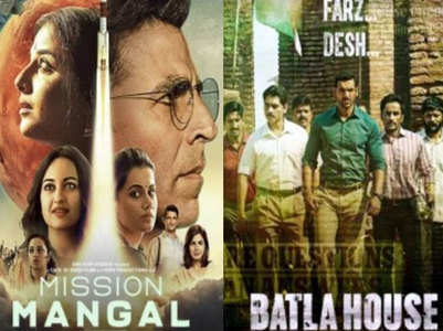 'Mission Mangal' vs 'Batla House' box office