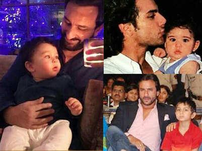 Saif Ail Khan's best photos with his kids
