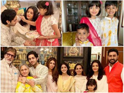 Aaradhya's adorable Raksha Bandhan
