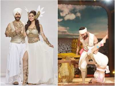 Nach: Shraddha gets injured during an act