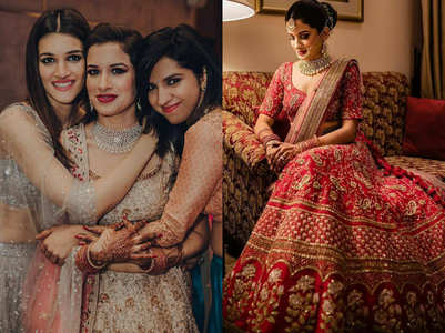 Kriti Sanon's bestie got married and you can't miss her wedding lehenga