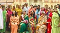 Suman Rao supports Girl Childs Education