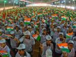 Kudla college lives up to Independence Day spirit