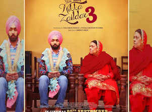 The first look of Ammy Virk's 'Nikka Zaildar 3' is out
