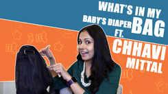 What's In My Baby's Diaper Bag Ft. Chhavi Mittal |Exclusive|