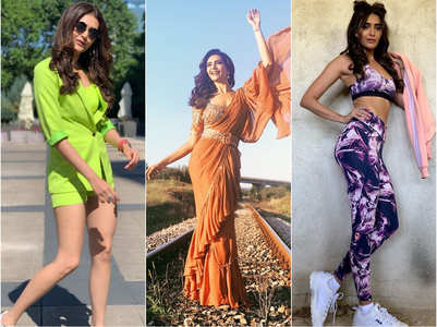 Karishma makes a stylish splash in Bulgaria