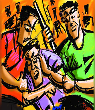 19-yr-old beaten up on suspicion of theft