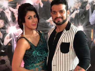 Karan Patel's special wishes for Ankita