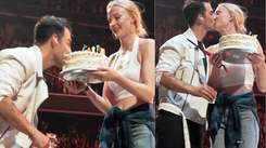 Sophie Turner surprises hubby Joe Jonas mid-concert on stage with a birthday cake