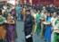 Ladies celebrated rakhi with jawans at Aurangabad Cantonment
