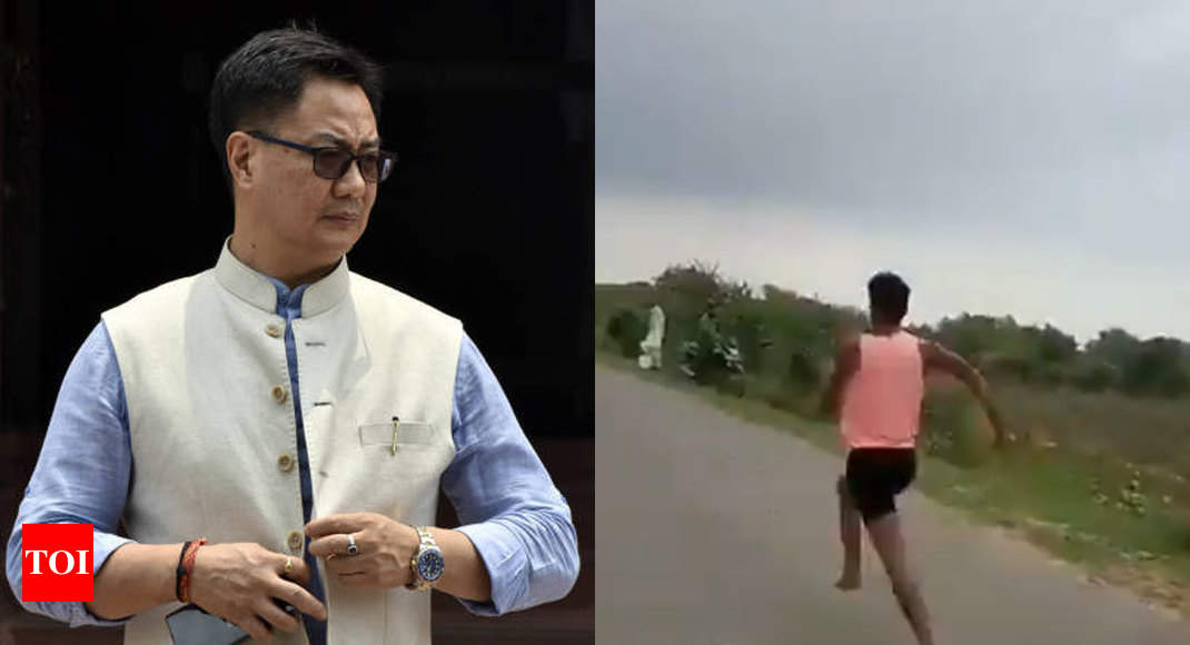 Kiren Rijiju assures support to sprinter who 'ran 100m in 11 seconds' -