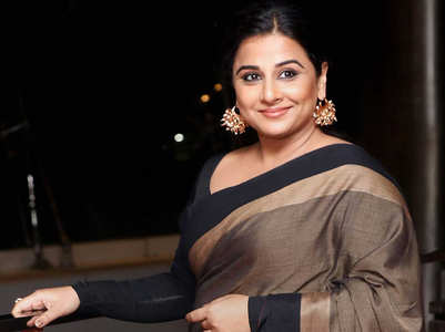 Pic: Vidya's new look for 'Shakuntala Devi'