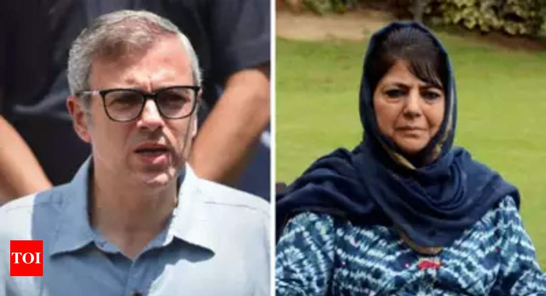 In detention, Omar hits the gym, Mufti buries herself in books