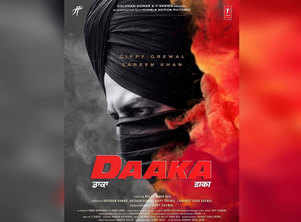 The first official look of Gippy Grewal's 'Daaka' is out