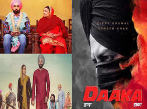 Week That Was! From the first look of 'Daaka' to official poster of 'Nikka Zaildar 3' to the trailer release of 'Saak', top Punjabi movies that made headlines this week