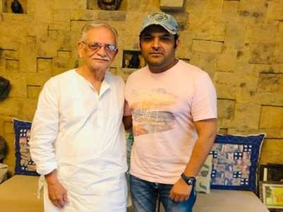 Kapil wishes Gulzar sahab on birthday