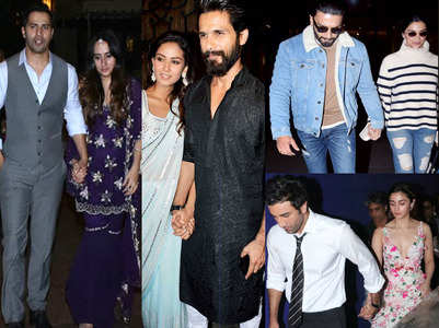 Bollywood celebs spotted hand-in-hand
