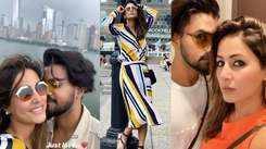 Hina Khan vacationing with beau Rocky Jaiswal in New York