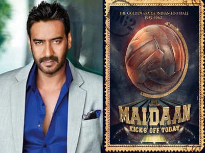 Ajay shares the poster of his next 'Maidaan'