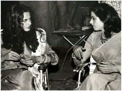 Check out his unseen pic of Rekha -Sridevi