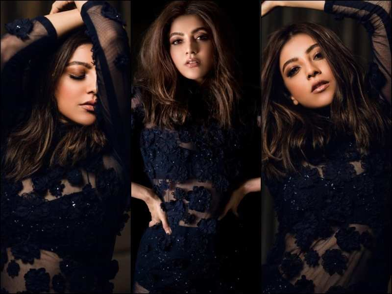 Kajal Agarwal Looked Very Hot And Bold In The New Photoshoot
