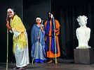 A mythological play gets staged at SNA in Lucknow