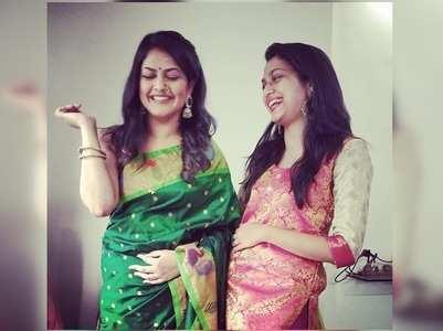 Singer Priyanka Barve's cute wish on her sister's birthday