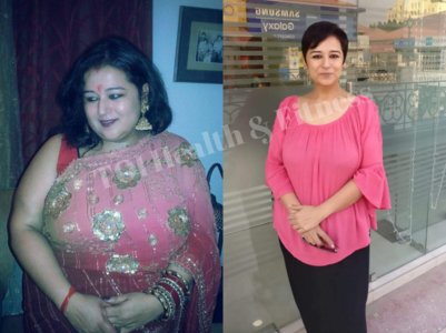 This woman shocked everyone by losing 60 kilos!