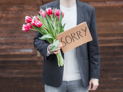 Stop saying SORRY if you want to be taken seriously