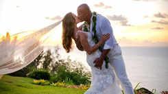 Dwayne 'The Rock' Johnson marries girlfriend Laura Hashian in secret Hawaiian wedding