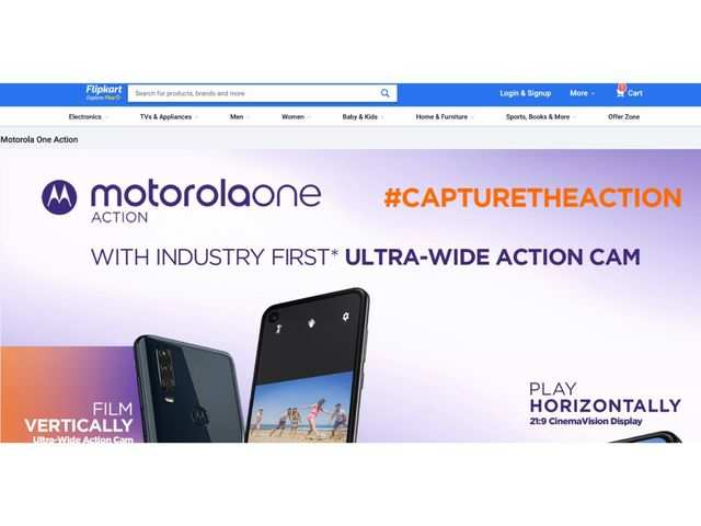 Motorola One Action set to launch in India on August 23, to be available on Flipkart