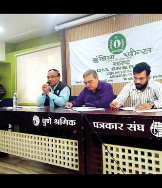 India Greens Party comes to city with eco promises