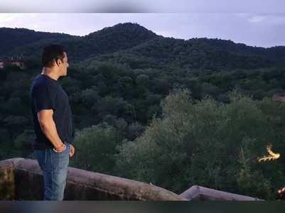 Dabangg 3: Salman enjoys the beauty of Jaipur
