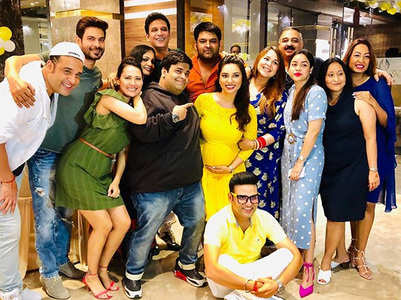 Kapil-Ginni attend a friend's baby shower