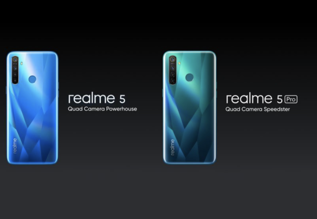 Realme 5, Realme 5 Pro with quad-camera setup launched: Price, availability and more