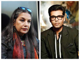 Did you know Shabana Azmi criticised Karan Johar after watching 'Kuch Kuch Hota Hai'?
