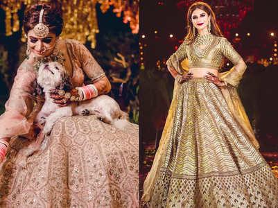 The bride wore Sabyasachi, Tarun Tahiliani, Anita Dongre