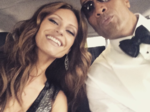 Lovely pictures of the newly weds Dwayne 'The Rock' Johnson & Lauren Hashian